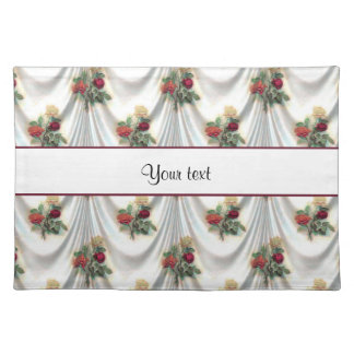 Romantic Roses & Drapes Cloth Placemat
