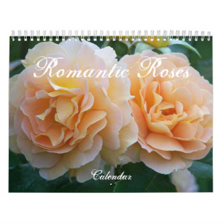 Romantic Roses Floral Photo Calendar