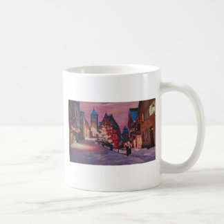 Romantic Rothenburg Tauber Germany in winter Mugs