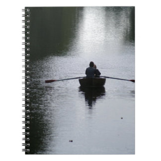Romantic Rowboat Notebook