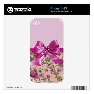Romantic Ruby Skins For The iPhone 4
