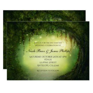 Enchanted Forest Invitations & Announcements | Zazzle