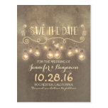 romantic save the date, rustic save the date,
