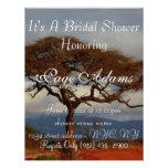 Romantic Safari Africa Bridal Shower Custom Invitation