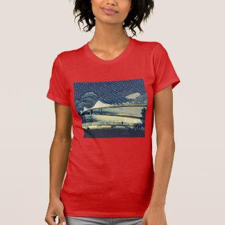 Romantic San Francisco SF Bay Bridge Lights T-Shirt
