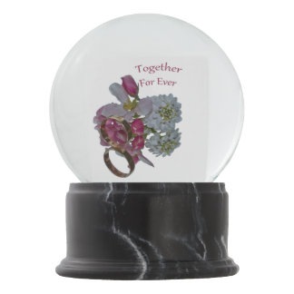 Romantic Sayings Snow Globe