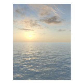 """Romantic Sea View"" Postcard"