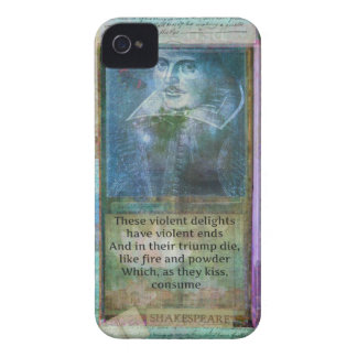 Romantic Shakespeare quote from Romeo and Juliet. iPhone 4 Cases
