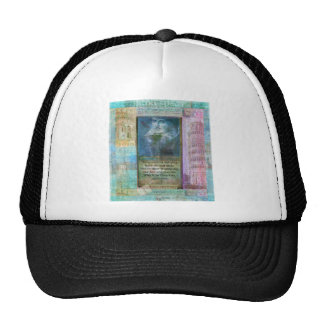 Romantic Shakespeare quote from Romeo and Juliet. Mesh Hats