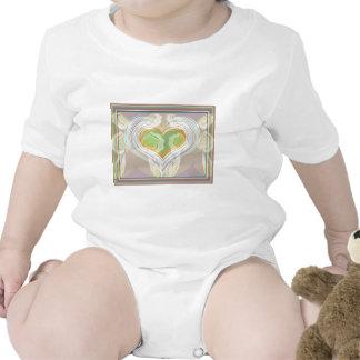 Romantic Soulmate - Dancing Hearts Baby Bodysuit