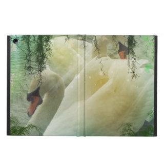 Romantic Spring Swan Lake White Swans iPad Air Case