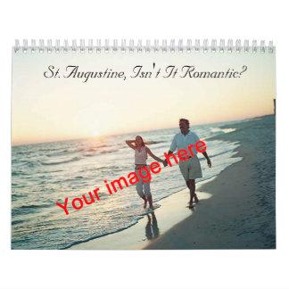 Romantic St. Augustine Calendar2 Wall Calendar