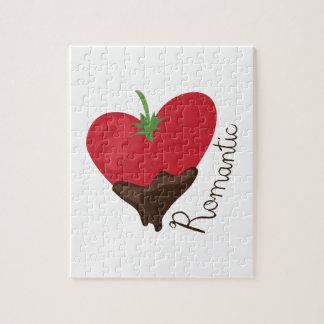Romantic Strawberry Jigsaw Puzzles