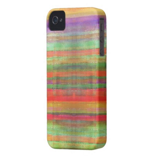 Romantic Striped Art Pattern BlackBerry Case iPhone 4 Cases