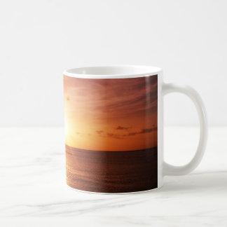 Romantic Sunset Picture Coffee Mug