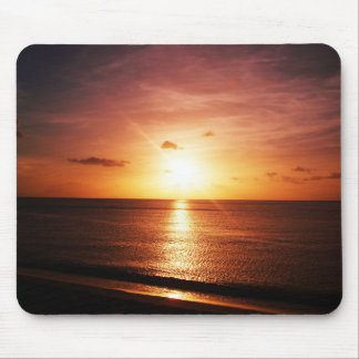 Romantic Sunset Picture Mouse Pad