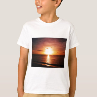 Romantic Sunset Picture T-Shirt