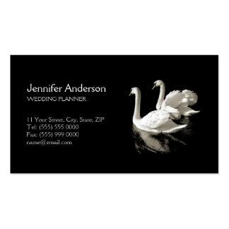 Romantic Swans business card