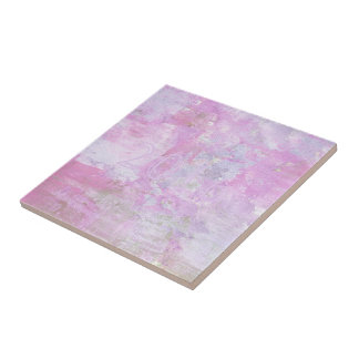 Romantic Sweet Happy New Year 2016 Soft Pink Tile