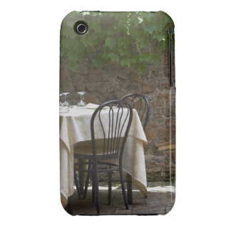 romantic table for two iPhone 3 covers