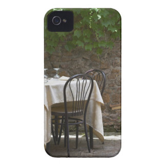 romantic table for two iPhone 4 case