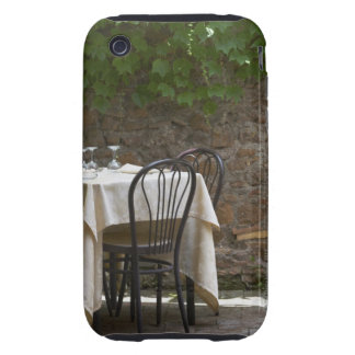 romantic table for two tough iPhone 3 case
