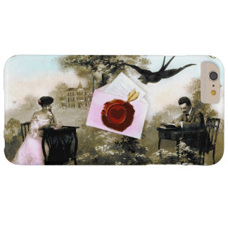 ROMANTIC VALENTINE LETTER ,RED WAX SEAL BARELY THERE iPhone 6 PLUS CASE