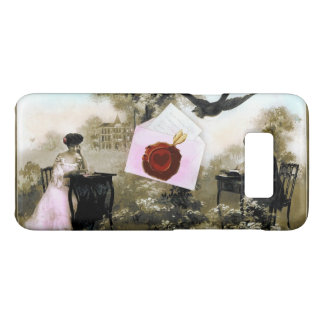 ROMANTIC VALENTINE LETTER ,RED WAX SEAL Case-Mate SAMSUNG GALAXY S8 CASE