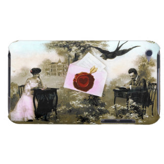 ROMANTIC VALENTINE LETTER ,RED WAX SEAL iPod TOUCH CASE