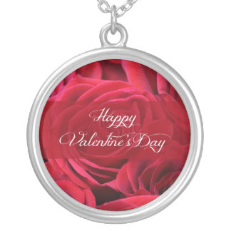 Romantic Valentine's Day Roses Necklace