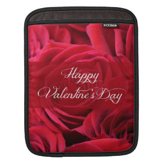 Romantic Valentine's Day Roses Sleeve For iPads