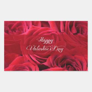 Romantic Valentine's Day Roses Sticker