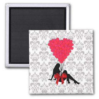 Romantic Valentines design Magnet