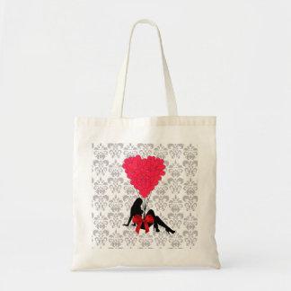 Romantic Valentines design Tote Bag
