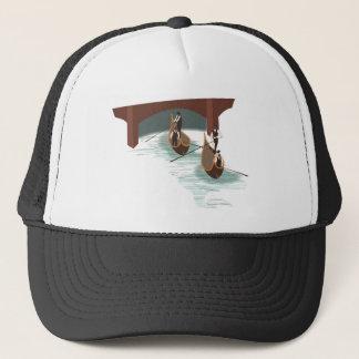 Romantic Venice Gondolas Trucker Hat