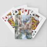 """Romantic Venice Italy Grand Canal Playing Cards<br><div class=""""desc"""">Romantic Venice Italy Grand Canal</div>"""
