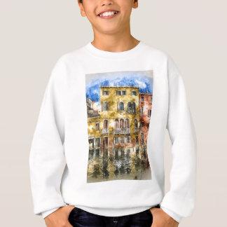 Romantic Venice Italy Grand Canal Sweatshirt