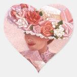 Romantic Victorian Lady Sticker