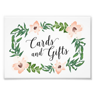 Romantic Vines Cards and Gifts Print