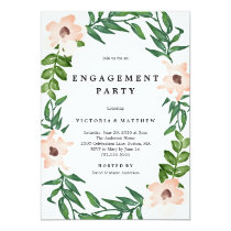 Romantic Vines Engagement Party Invitation