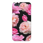 Romantic Vintage Floral iPhone 5/5S Matte Case