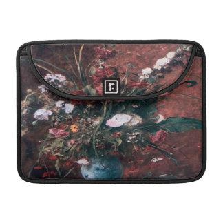 Romantic Vintage Flower Arrangement MacBook Pro Sleeves