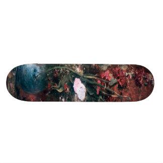 Romantic Vintage Flower Arrangement Skateboard