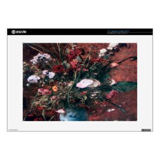 "Romantic Vintage Flower Arrangement Skin For 15"" Laptop"