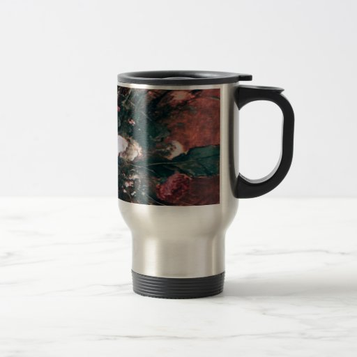 Romantic Vintage Flower Arrangement Travel Mug