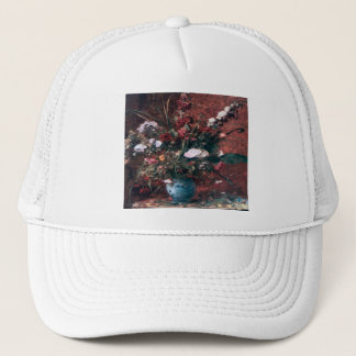 Romantic Vintage Flower Arrangement Trucker Hat