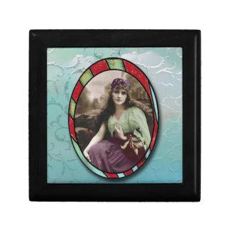 Romantic Vintage Gypsy Jewelry Box