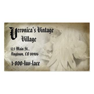 Romantic Vintage Lace Company Tarjetas De Visita