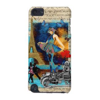 Romantic vintage Paris collage iPod Touch (5th Generation) Cover