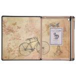 Romantic Vintage Paris in Spring Collage iPad Covers